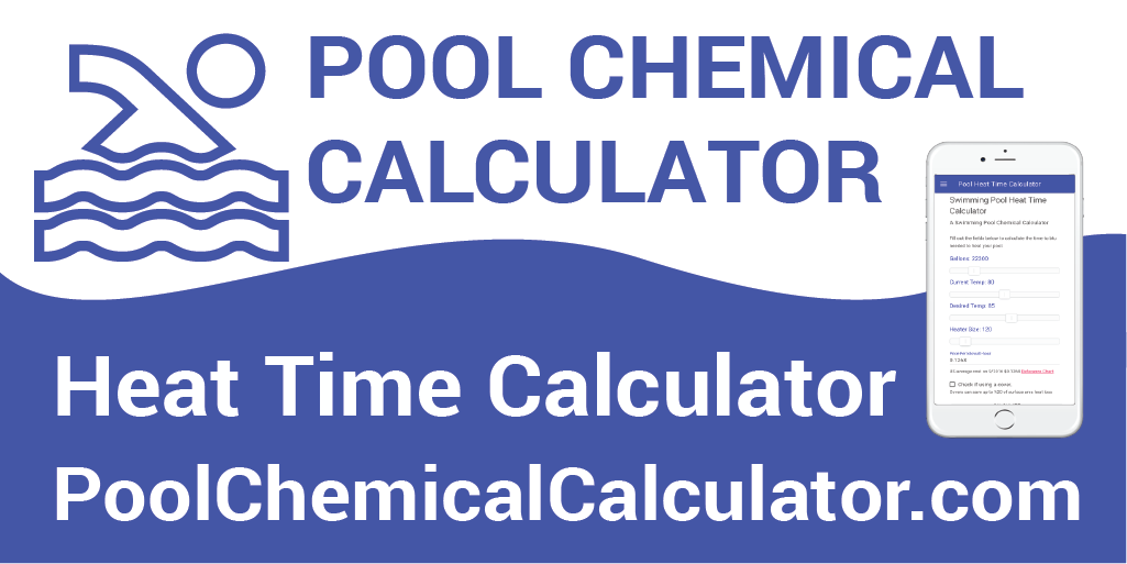 Pool heat time calculator - Swimming pool heating calculations ...