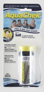 AquaChek 561140A Pool Salt Calculator Swimming Pool Test Strips - White