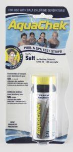 AquaChek 561140A Pool Salt Calculator Swimming Pool Test Strips - White
