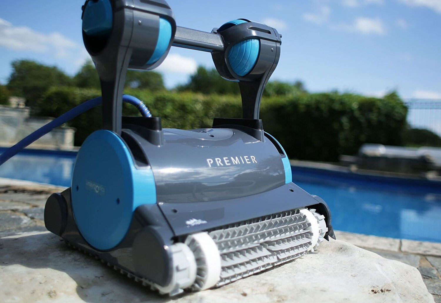 2018 Dolphin Premier Robotic In Ground Pool Cleaner Pool