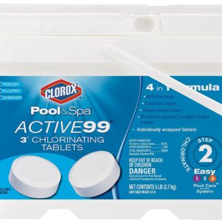 "Clorox Pool&Spa Active99 3"" Chlorinating Tablets"
